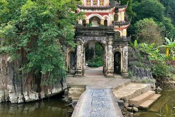 Bich Dong pagoda- one place must see in Ninh Binh province